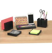 Office Desk Organizer Sets Office Desk Accessories Set Stationery Organizers Netztor Me