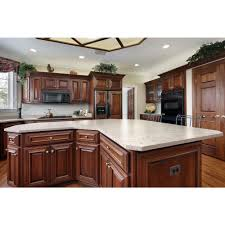 The Home Depot Cabinets - white arabesque example silestone 2 in quartz countertop