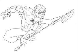 spider man drawings coloring pages gekimoe u2022 38509