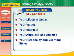 read to learn how to determine your values interests aptitudes