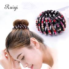 hair holders korean fashion bird nest plastic hairband expanding hair