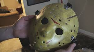 Jason Halloween Mask by Jason Voorhees Friday Part 8 Full Costume Unboxing Youtube