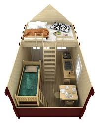 tiny house wheels with loft free plans wildflower antique design tiny house plans