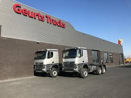 geurts trucks bv over 20 years of experience in purchase and