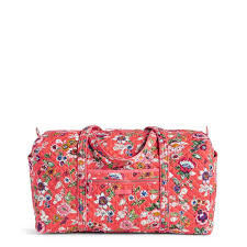 Massachusetts Small Travel Bags images Iconic large travel duffel vera bradley