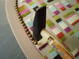 tissu pour fauteuil crapaud comment recouvrir un voltaire byseverine
