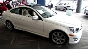 mercedes c350 coupe for sale 2013 mercedes c350 4matic coupe exterior and interior