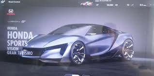 new honda sports car honda sports vision gran turismo looks just like those u0027baby u0027 nsx