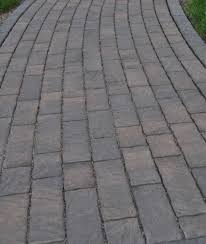Types Of Patio Pavers by Choosing The Right Paver Color And Style For A Patio Driveway Or