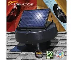 solar attic fan costco sunlight solar 9915tr 1 900sq ft ventilating solar attic fan