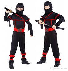 Baby Ninja Halloween Costume Japanese Anime Halloween Baby Boys Ninja Warrior Clothing
