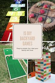 Backyard Kid Activities by 15 Diy Backyard Games Your Family Will Love Backyard Kid