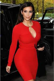 kardashian red cutout short cocktail party dress for sale at