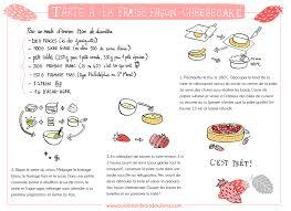 recette de cuisine recette tarte aux fraises façon cheesecake cuisine en bandoulière