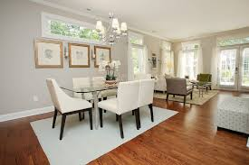 bungalow dining room with traditional charlotte and style ch andeliers