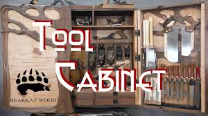 Wood Tool Storage Cabinets Woodworking Shop Remodel Youtube