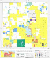 Map Of Oakland County Michigan by Addison Township U003e Township Information U003e Maps