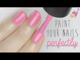 paint your nails perfectly youtube vintage preppy style