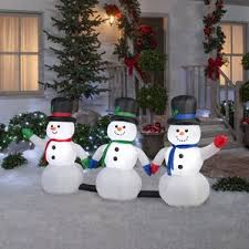 Frosty The Snowman Outdoor Decoration Snowman Outdoor Christmas Decorations You U0027ll Love Wayfair
