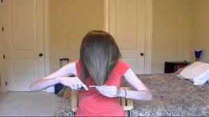 how cut your own hair long layers easy tutorial medium hair