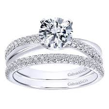 cross jewelry rings images Gabriel er10439 criss cross diamond engagement ring setting jpg