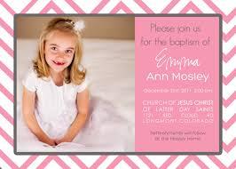 Christening Invite Cards Cute Pink Christening For Baby Invitation Card Emuroom