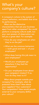 does your company need a culture makeover