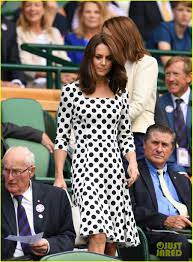 kate middleton debuts short haircut at first day of wimbledon