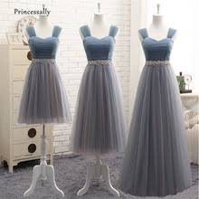 popular blue grey bridesmaid dresses buy cheap blue grey