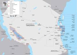 Map Of Tanzania Tanzanian Affairs Big New Gas Discovery