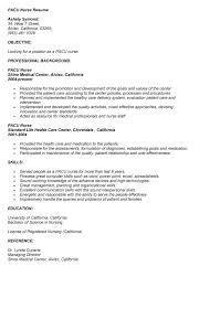 Registered Nurse Resumes Samples by Pediatric Nursing Resume Sample