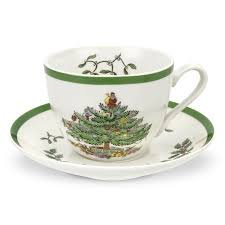spode tree tea cup and saucer set of 4 spode uk