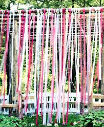 ribbon streamers five fresh ideas for using ribbon streamers at your wedding