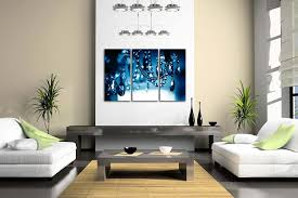 amazon com chandelier blue dark wall art painting pictures print