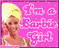 I M A Barbie Girl Meme - a picture of barbie impremedia net
