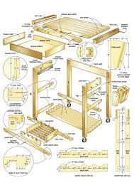 woodworking plans kitchen island butcher block kitchen island woodworking plans guru designs