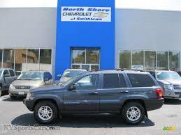 blue jeep grand cherokee 2003 jeep grand cherokee laredo 4x4 in steel blue pearlcoat