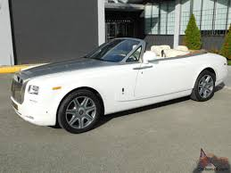 rolls royce white convertible royce phantom drophead coupe convertible 2 door