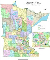 Chicago Area Zip Code Map by Map Of Minnesota Cities