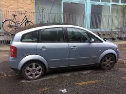 2001 audi a2 petrol manual blue full cream leather interior 495