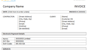 occupyhistoryus outstanding student fees invoice template dotxes