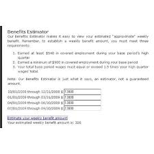 learn how to calculate unemployment benefit checks