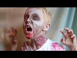 Zombie Costume How To Make A Kid Zombie Costume And Makeup Diy Latex Youtube
