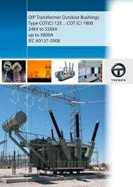 transformer bushings cot trench group pdf catalogue
