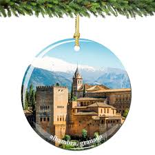 alhambra granada spain ornament