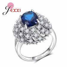 s day rings jexxi new arrival fashion oval white wedding s
