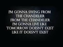 Chandelier Youtube Sia Chandelier Lyrics I Want To Swing From The Chandelier Lyrics