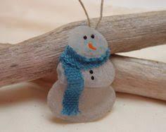 idea for a craft make a sea glass ornament