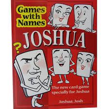 joshua u0027s game new stocking filler for men or boys called joshua