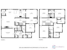 Professional Floor Plan by Schematic Floorplans Carolina Virtual Tours